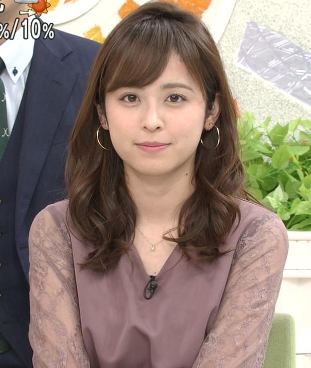 久慈暁子アナ 一応、透けた衣装キャプ・エロ画像6