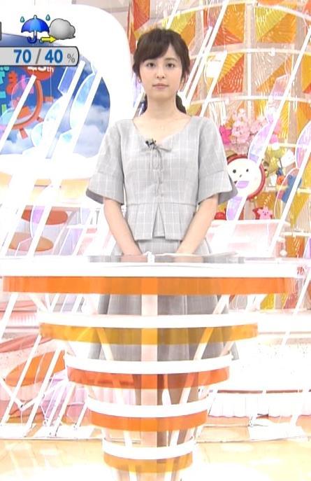 久慈暁子アナ 胸元がちょっと見えてエロい!!キャプ・エロ画像