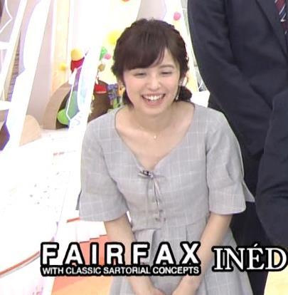 久慈暁子アナ 胸元がちょっと見えてエロい!!キャプ・エロ画像6