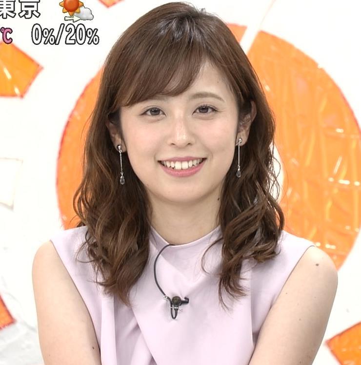 久慈暁子アナ ピチピチなTシャツやプリケツ画像キャプ・エロ画像13