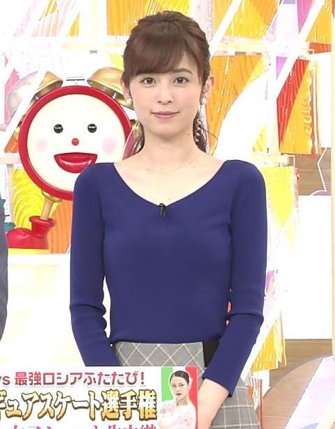 久慈暁子アナ 細身で可愛すぎ!キャプ・エロ画像2