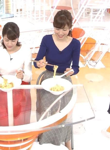 久慈暁子アナ 細身で可愛すぎ!キャプ・エロ画像6