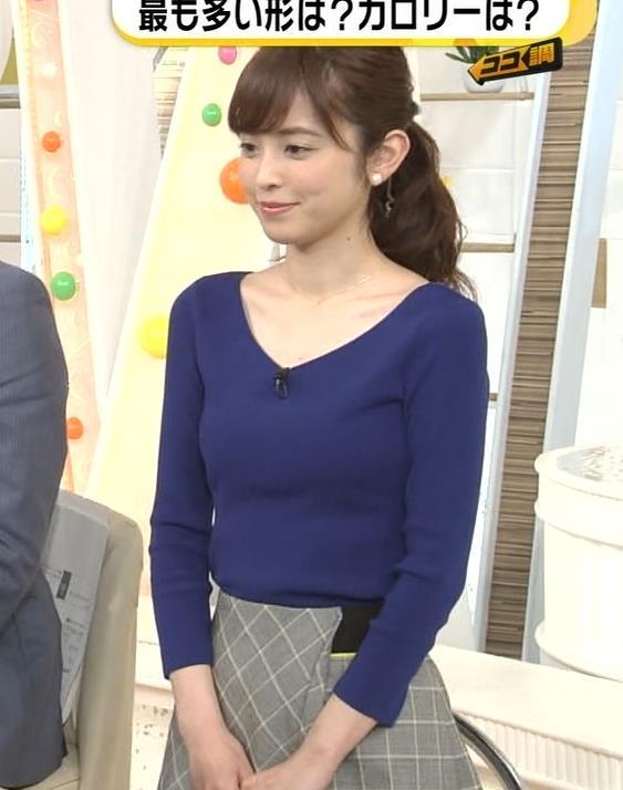 久慈暁子アナ 細身で可愛すぎ!キャプ・エロ画像10