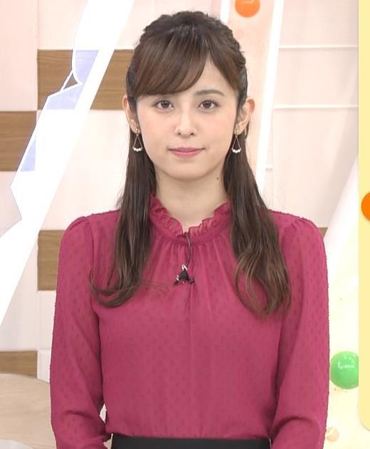 久慈暁子アナ めざましテレビキャプ・エロ画像2
