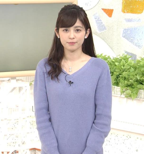 久慈暁子アナ ミニスカワンピの美脚生足キャプ・エロ画像7