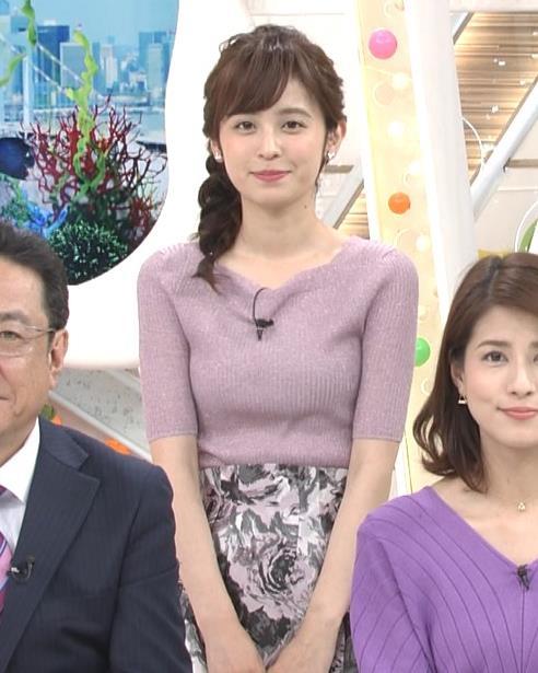 久慈暁子アナ ♡ニットおっぱい♡キャプ・エロ画像6