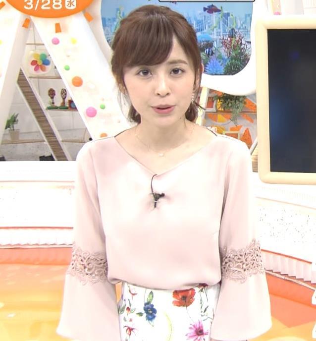 アナ 花柄ロングスカートキャプ・エロ画像