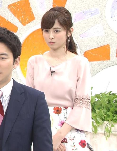 アナ 花柄ロングスカートキャプ・エロ画像4