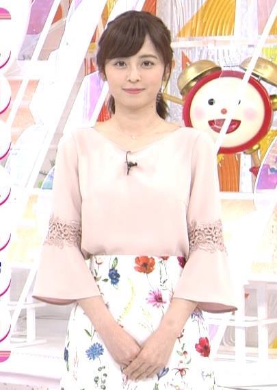 アナ 花柄ロングスカートキャプ・エロ画像5
