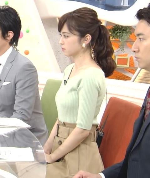 久慈暁子アナ 細身巨乳♡キャプ・エロ画像11