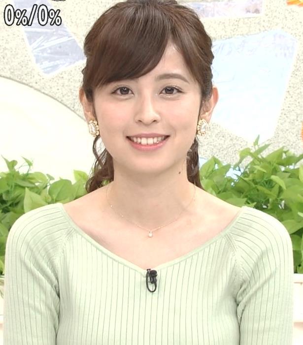 久慈暁子アナ 細身巨乳♡キャプ・エロ画像3