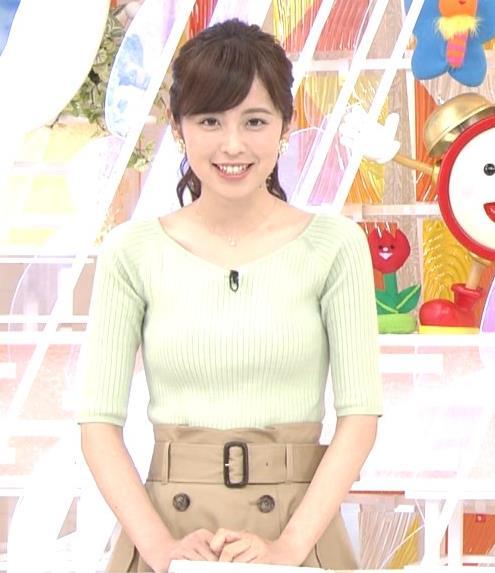 久慈暁子アナ 細身巨乳♡キャプ・エロ画像6