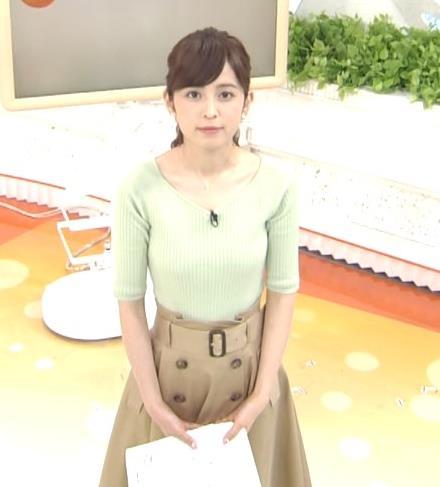 久慈暁子アナ 細身巨乳♡キャプ・エロ画像7