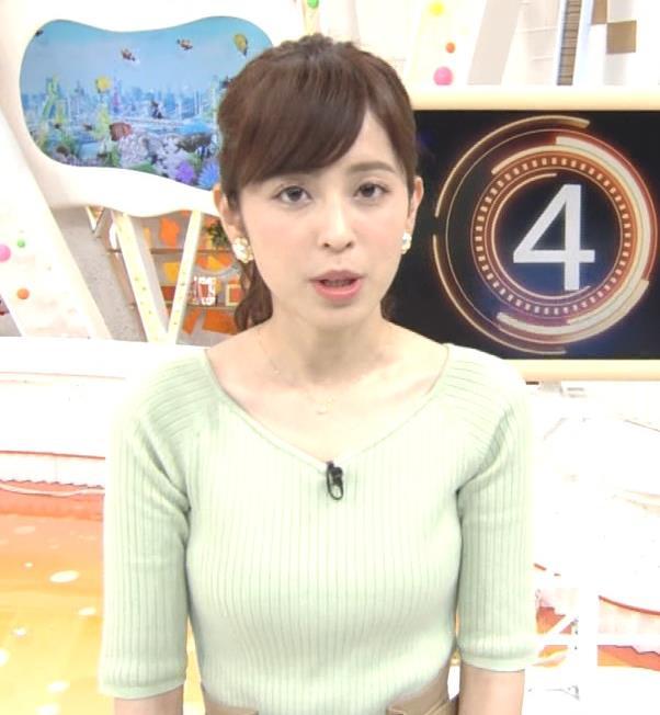 久慈暁子アナ 細身巨乳♡キャプ・エロ画像8