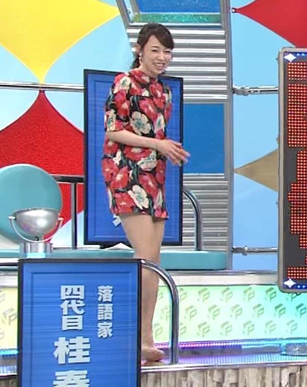 丸田佳奈 美人女医さん、スカートが短すぎるキャプ・エロ画像4