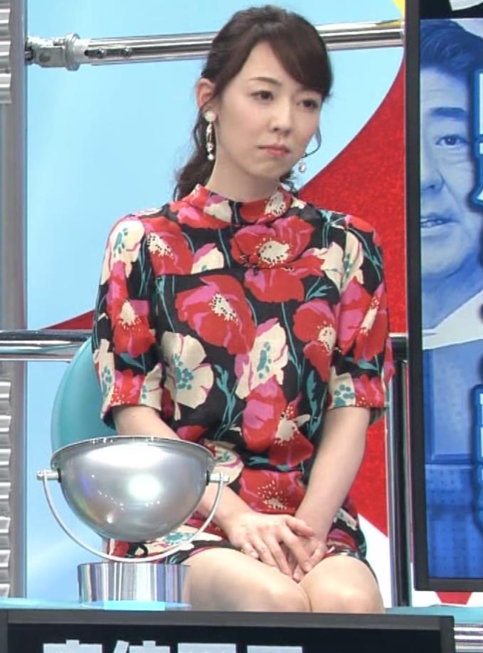 丸田佳奈 美人女医さん、スカートが短すぎるキャプ・エロ画像7