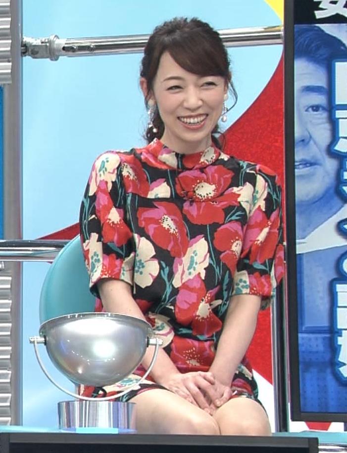 丸田佳奈 美人女医さん、スカートが短すぎるキャプ・エロ画像8