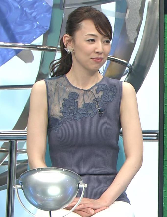 丸田佳奈 おっぱいくっきりニットキャプ・エロ画像11