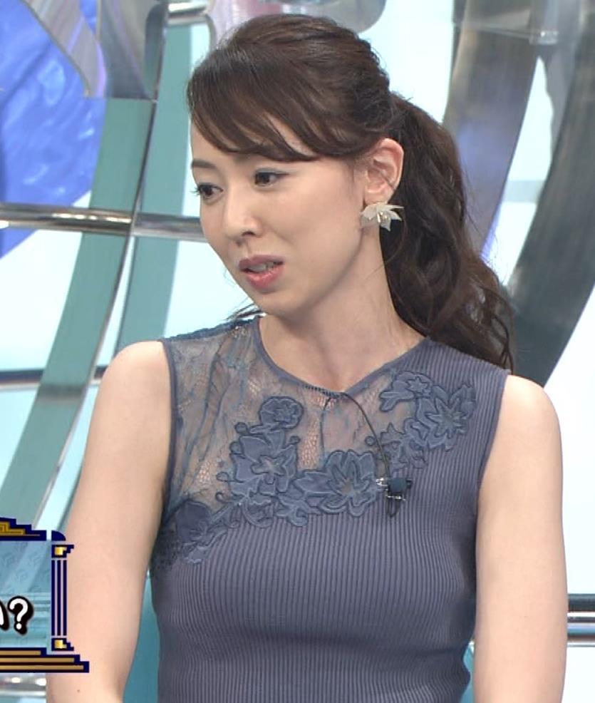 丸田佳奈 おっぱいくっきりニットキャプ・エロ画像6