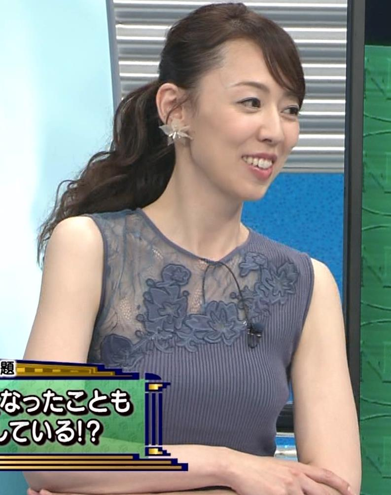丸田佳奈 おっぱいくっきりニットキャプ・エロ画像9