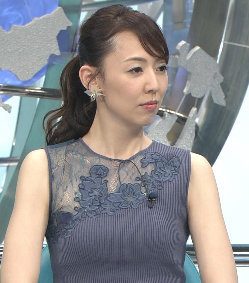 丸田佳奈 おっぱいくっきりニットキャプ・エロ画像10