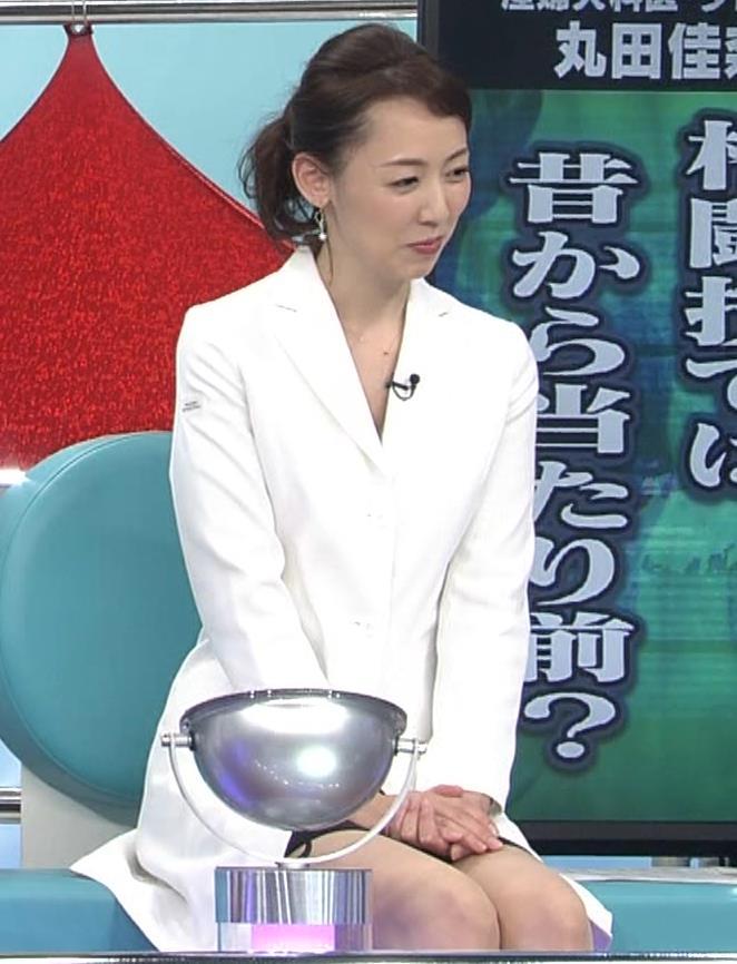 丸山佳奈 スカートが短すぎてパンツが見えそうな美人女医キャプ・エロ画像3