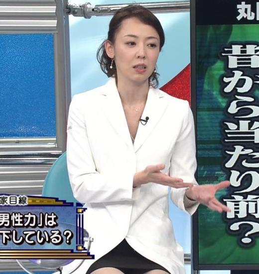 丸田佳奈 スカートが短すぎてパンツが見えそうな美人女医キャプ画像(エロ・アイコラ画像)