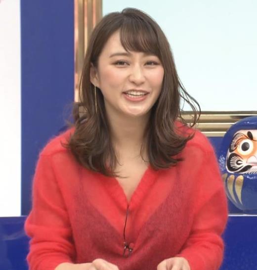 枡田絵理奈 インナーがずれて胸の谷間が透けまくる大ハプニング!キャプ画像(エロ・アイコラ画像)