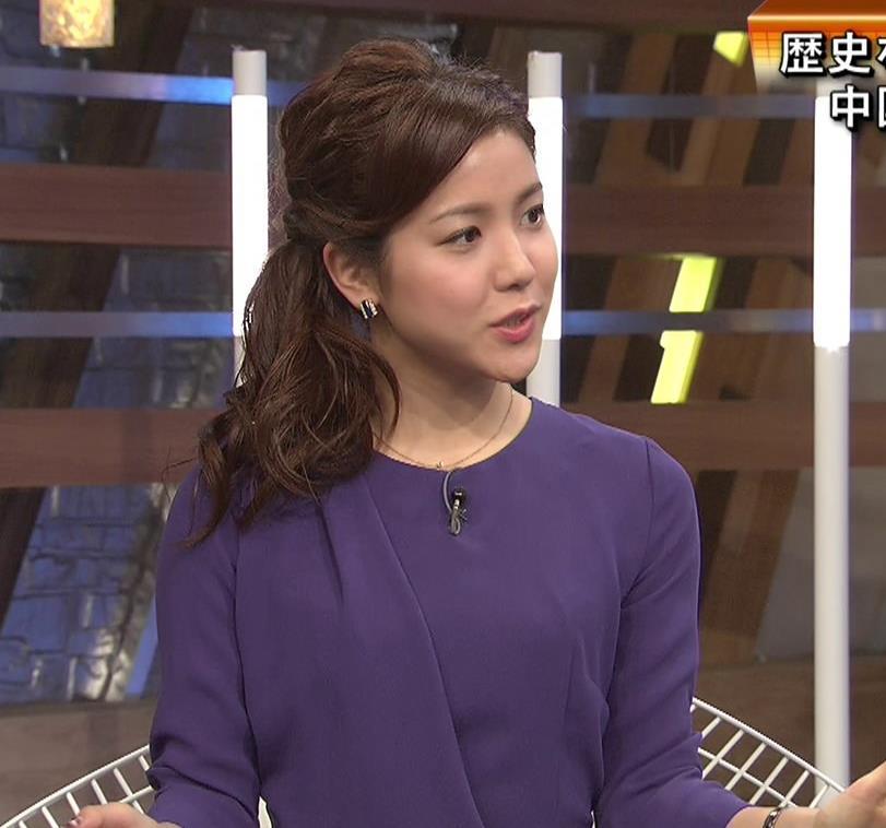 増井渚アナ ミニスカキャプ・エロ画像4
