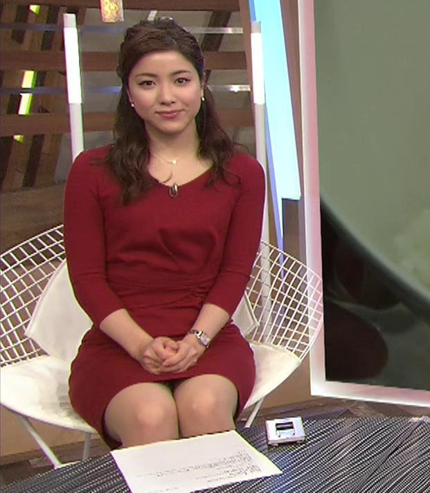 増井渚アナ スカート短くてパンツ見えそうな▼ゾーンキャプ・エロ画像