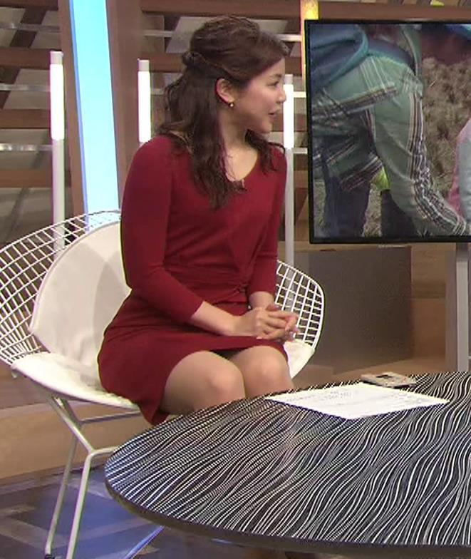 増井渚アナ スカート短くてパンツ見えそうな▼ゾーンキャプ・エロ画像3