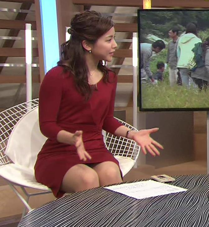 増井渚アナ スカート短くてパンツ見えそうな▼ゾーンキャプ・エロ画像7