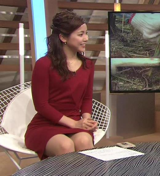 増井渚 スカート短くてパンツ見えそうなデルタゾーンキャプ画像(エロ・アイコラ画像)
