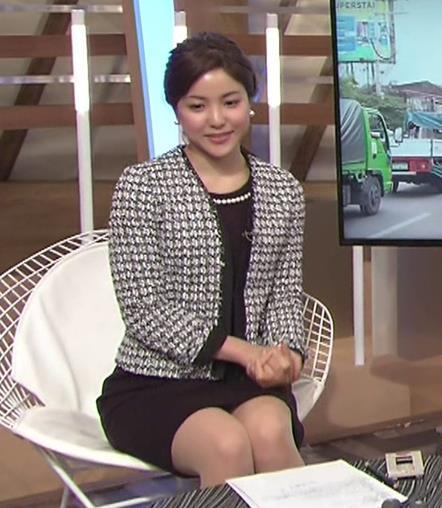 増井渚アナ 太ももがエロい▼ゾーンキャプ・エロ画像2