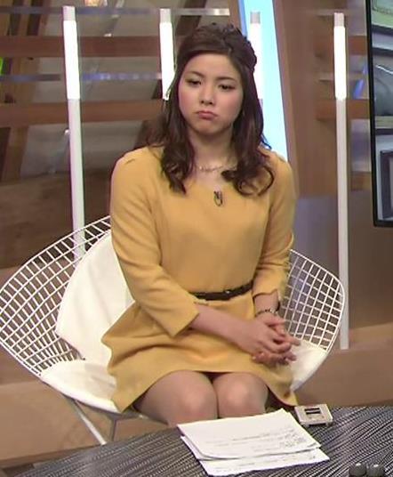 増井渚アナ 太ももが見え過ぎ女子アナキャプ・エロ画像3