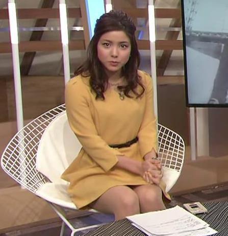 増井渚アナ 太ももが見え過ぎ女子アナキャプ・エロ画像4