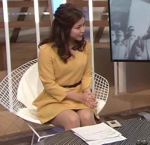 増井渚アナ 太ももが見え過ぎ女子アナキャプ・エロ画像5