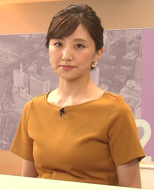 松村未央アナ エロい胸のふくらみキャプ・エロ画像2