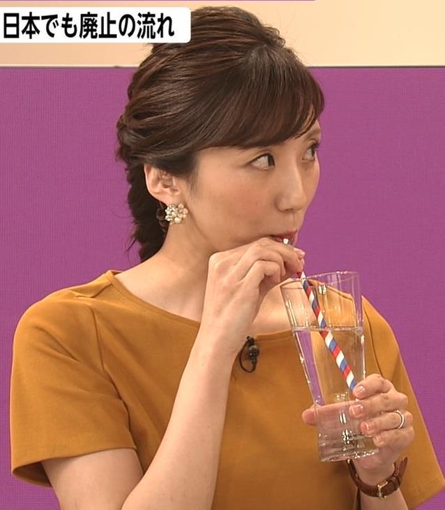 松村未央アナ エロい胸のふくらみキャプ・エロ画像4