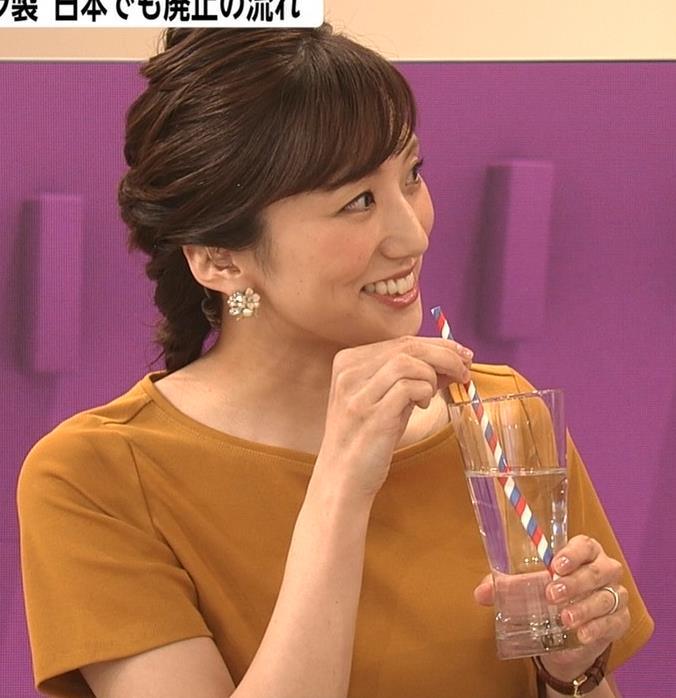 松村未央アナ エロい胸のふくらみキャプ・エロ画像5