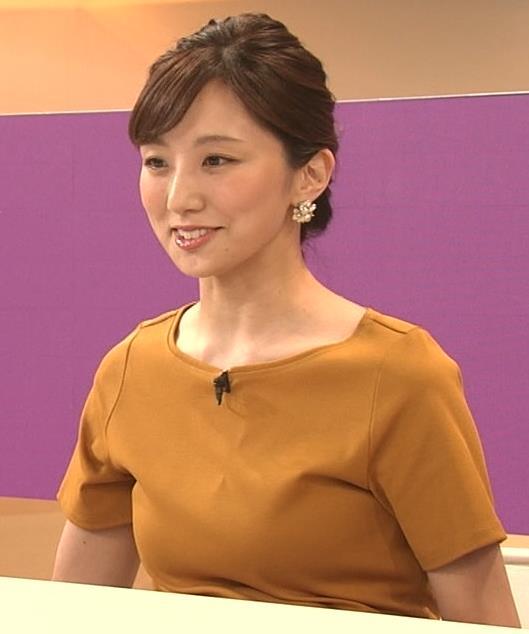 松村未央アナ エロい胸のふくらみキャプ・エロ画像6