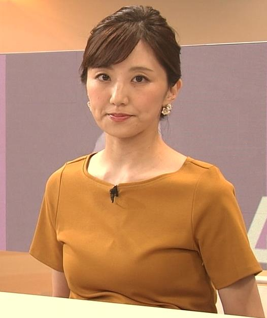 松村未央アナ エロい胸のふくらみキャプ・エロ画像7