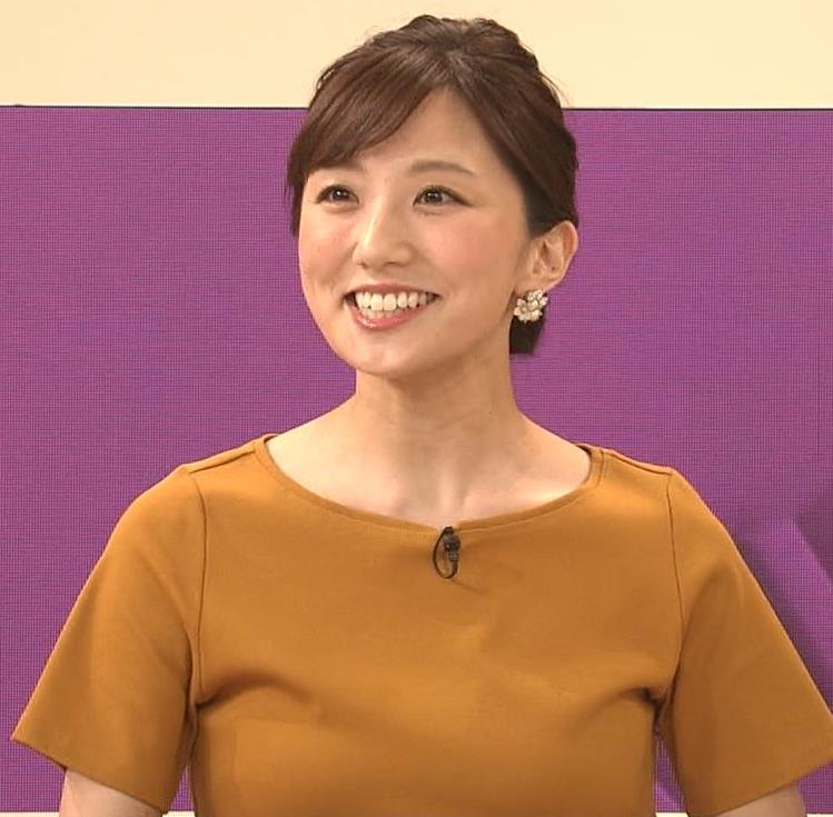 松村未央アナ エロい胸のふくらみキャプ・エロ画像8