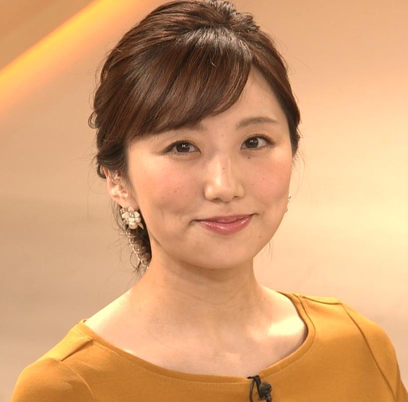 松村未央アナ エロい胸のふくらみキャプ・エロ画像9