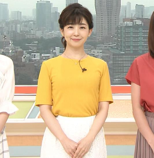 松尾由美子 ニット乳♥キャプ・エロ画像2