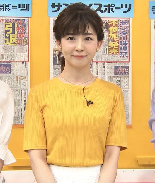松尾由美子 ニット乳♥キャプ・エロ画像6