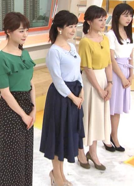 松尾由美子アナ でかい横乳キャプ・エロ画像2