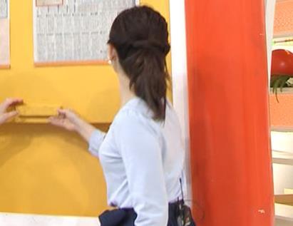 松尾由美子アナ でかい横乳キャプ・エロ画像5
