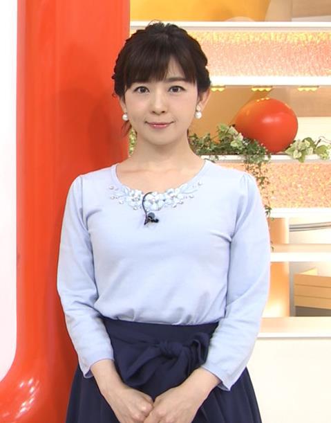 松尾由美子アナ でかい横乳キャプ・エロ画像6
