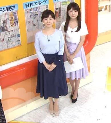松尾由美子アナ でかい横乳キャプ・エロ画像7